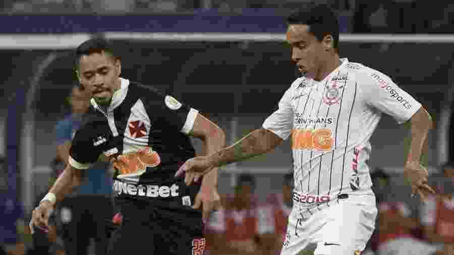 Jadson em ação pelo Corinthians durante jogo contra o Vasco em 2019 - Daniel Augusto Jr/Ag. Corinthians