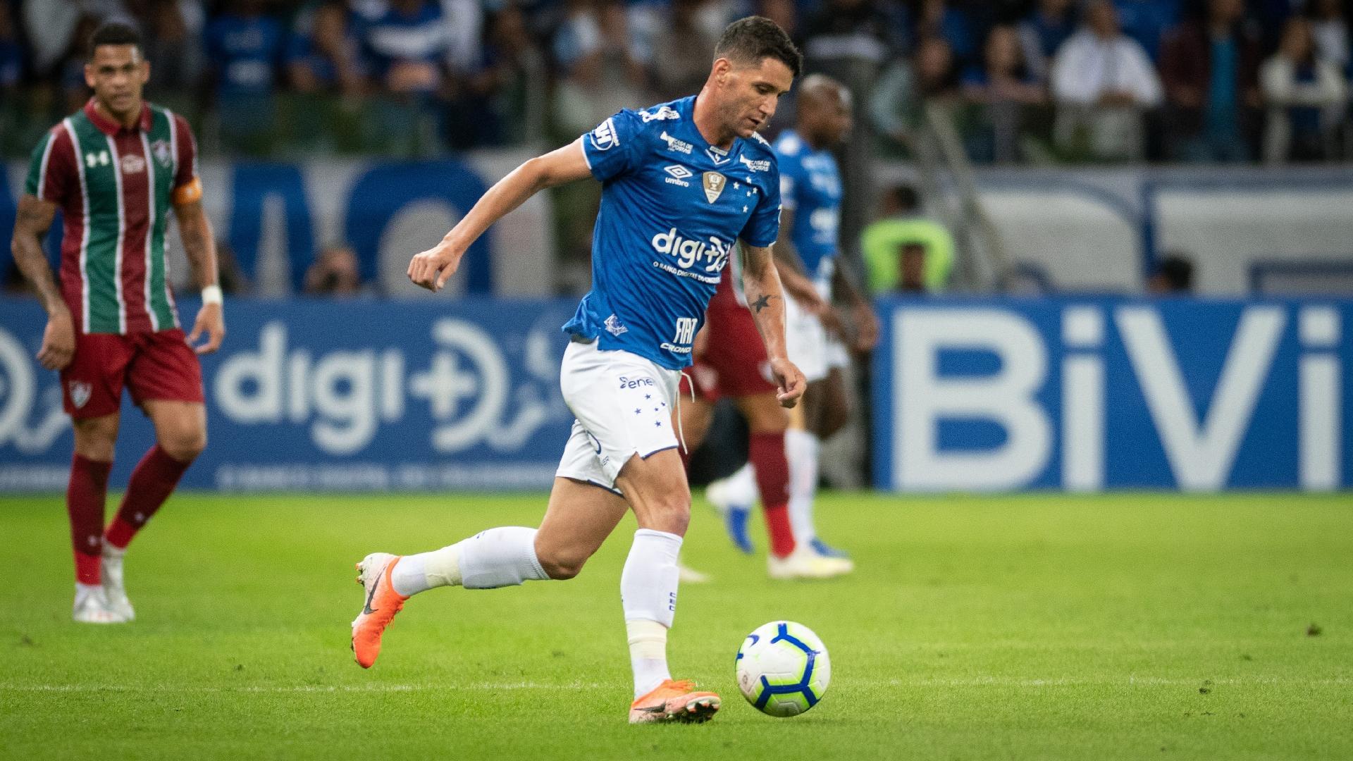 Thiago Neves, durante jogo entre Cruzeiro e Fluminense