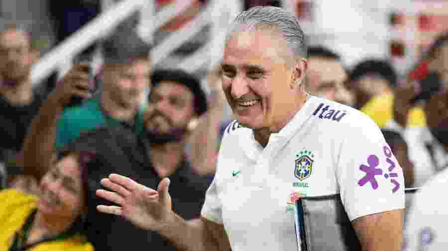 Tite está sob os cuidados de Jorge Kalil, médico cirurgião vascular e diretor de futebol do Corinthians - Lucas Figueiredo/CBF