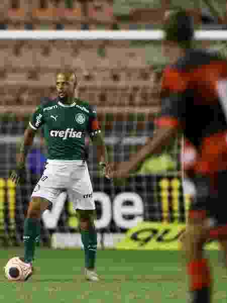 Felipe Melo, do Palmeiras, em jogo contra o Ituano pela primeira rodada do Campeonato Paulista - Cesar Greco