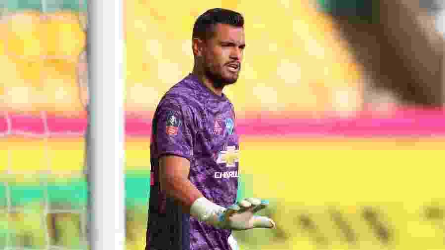 Sergio Romero atualmente é a quarta opção para a posição no Manchester United - Catherine Ivill/Pool via REUTERS