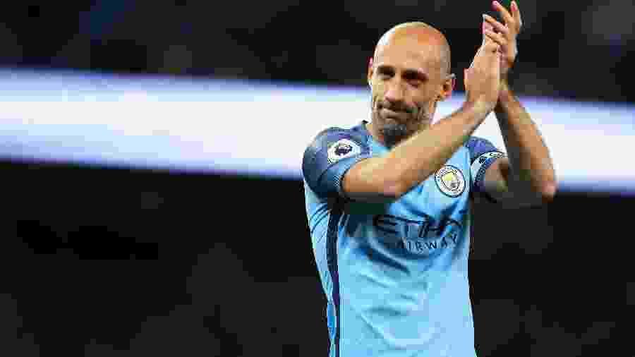 Pablo Zabaleta atuou por nove temporadas pelo Manchester City - Matthew Lewis/Getty Images