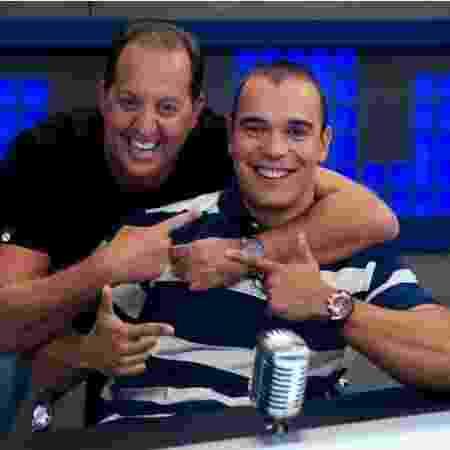 Benja e Mano no Fox Sports Rádio: jornalistas estarão em programa esportivo do SBT - Divulgação/Fox Sports