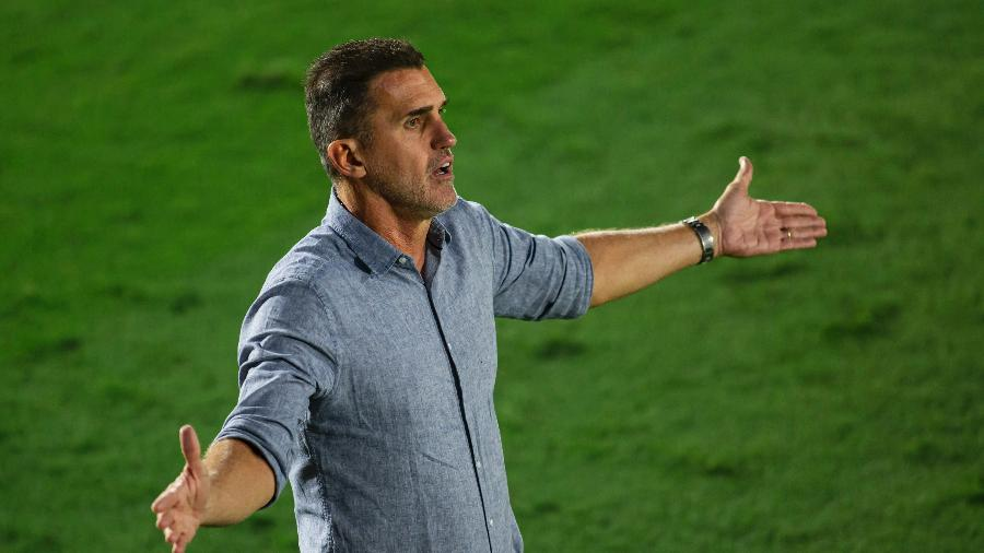 Técnico Vagner Mancini corre risco de demissão no Corinthians - Diogo Reis/AGIF