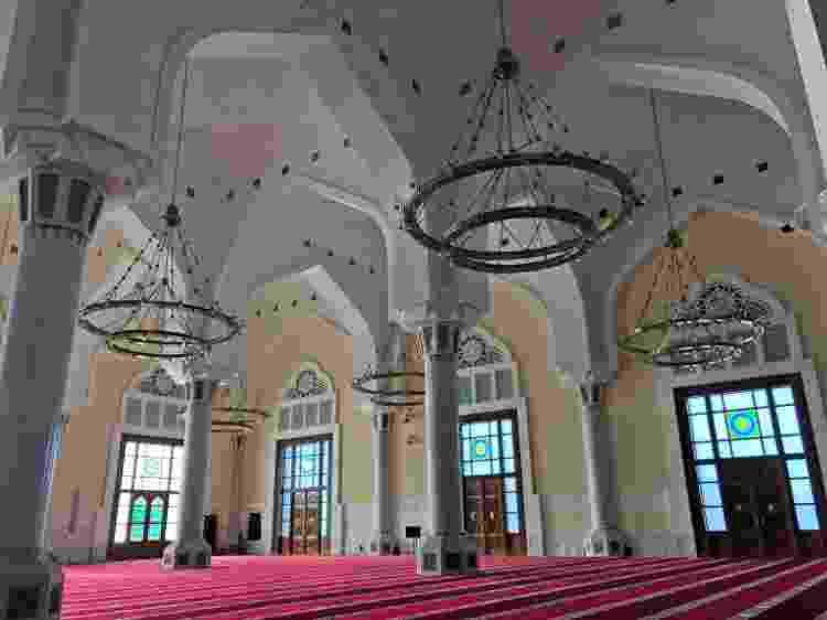 Grande Mesquita de Doha, ou Imam Muhammad bin Abdulwahhab, o maior templo muçulmano do Qatar - Tiago Leme - Tiago Leme