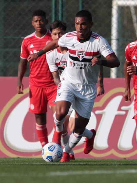 Juan, em ação pelo sub-20 do São Paulo - Miguel Schincariol/São Paulo FC
