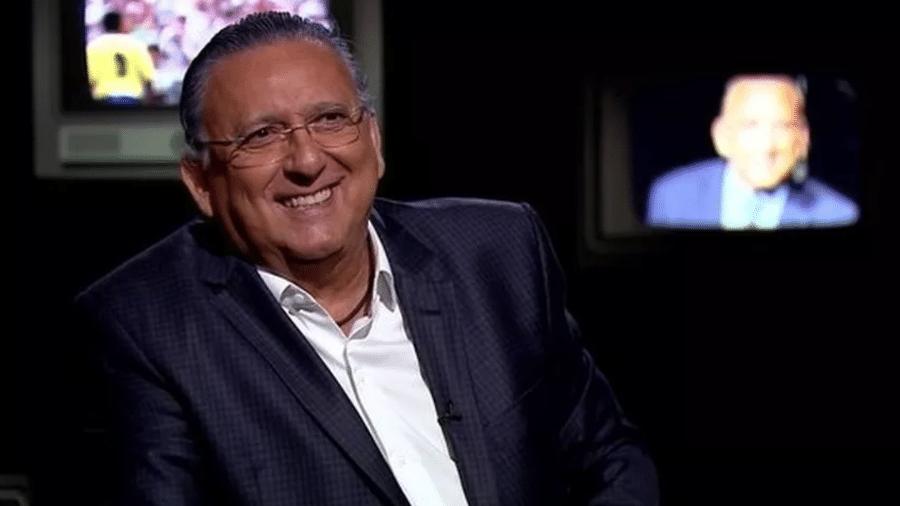 O narrador fez um passeio pela Globo para mostrar os bastidores do programa - Divulgação