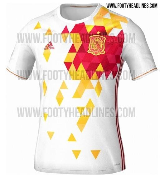 Espanha lança uniforme para Eurocopa 2016