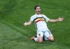 Bélgica domina desde o início, goleia a Hungria e avança na Eurocopa - Vincent Kessler/Reuters