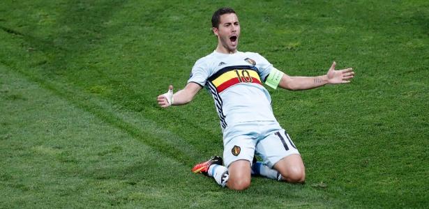 Kompany elogiou o companheiro de seleção, Eden Hazard