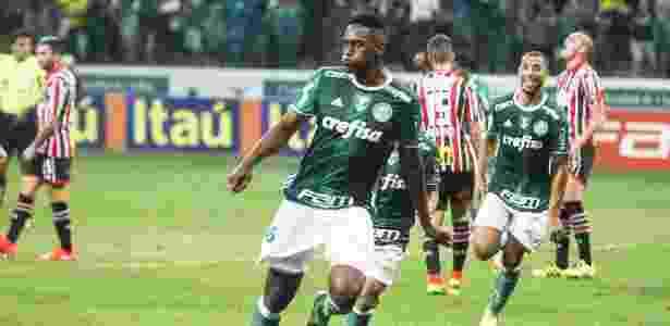 De acordo com o Palmeiras, Mina defenderá a seleção colombiana - Rubens Cavallari/Folhapress