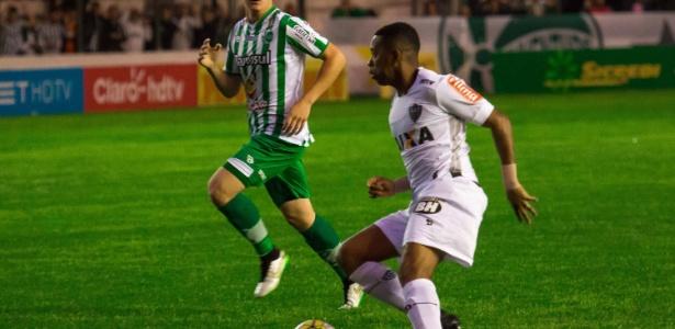 O Atlético-MG, de Robinho, teve muitas dificuldades contra o Juventude, na Copa do Brasil de 2016