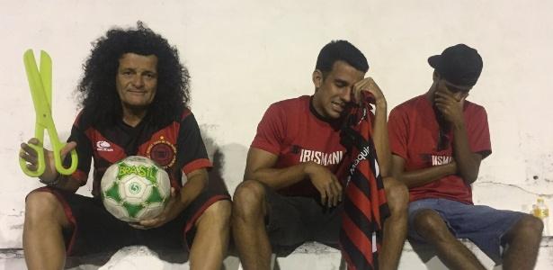 Mauro Shampoo se junta a torcedores do Íbis, que não viram seu time ganhar em 2016