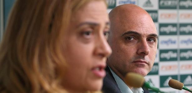 Leila Pereira é aliada de Maurício Galiotte e apoiou a reeleição do presidente - Cesar Greco/Fotoarena
