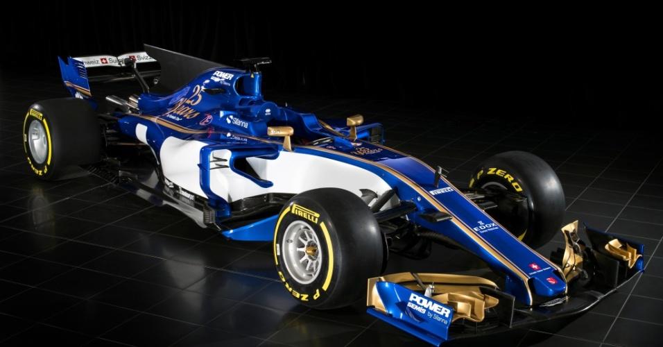 Carro da Sauber para a temporada de 2017 da F-1
