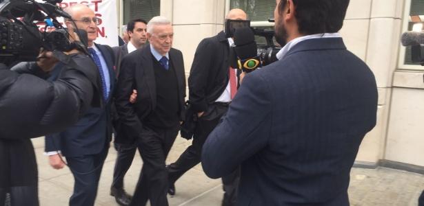 O ex-presidente da CBF José Maria Marin está preso nos Estados Unidos