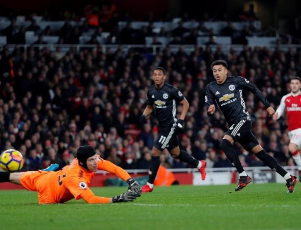 Lingard fez o segundo e o terceiro gols da vitória dos visitantes neste sábado
