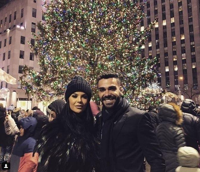 O Natal do Bruno Henrique foi lá em Nova Iorque