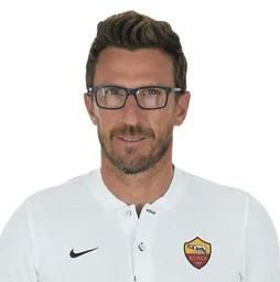 Eusebio Di Francesco, técnico da Roma