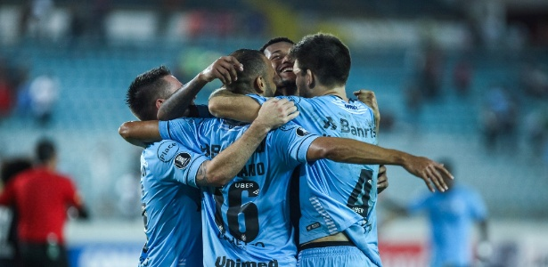 Grêmio venceu Monagas-VEN com um pênalti no final do jogo em Maturín
