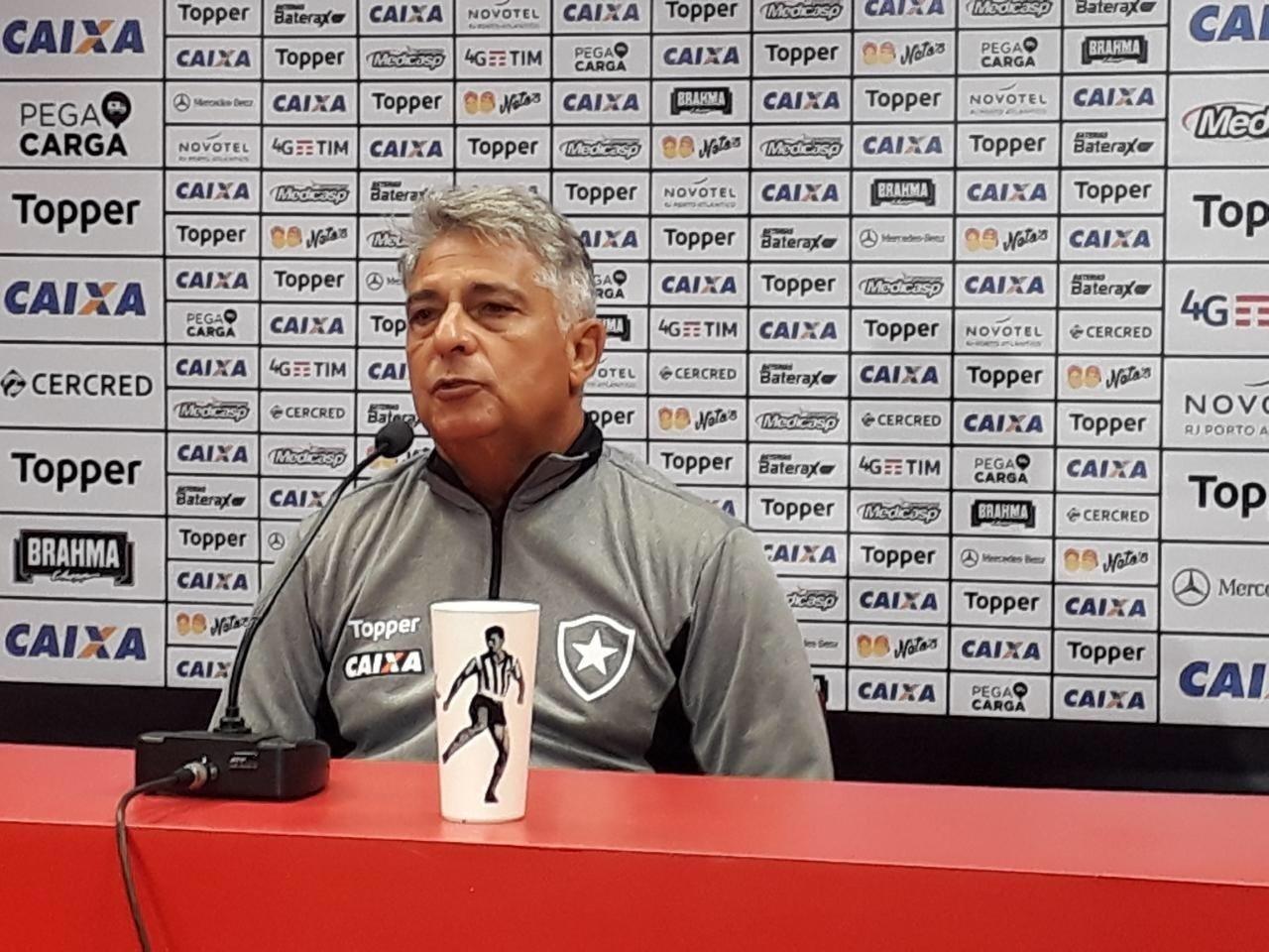 Marcos Paquetá, técnico do Botafogo, após derrota contra o Internacional