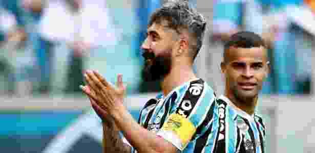 O Grêmio acredita que terá um 2019 melhor por conta das dívidas pagas neste ano - REUTERS/Diego Vara