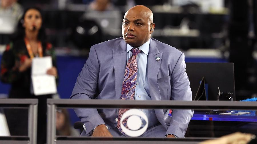 Charles Barkley é comentarista da NBA - Streeter Lecka/Getty Images/AFP