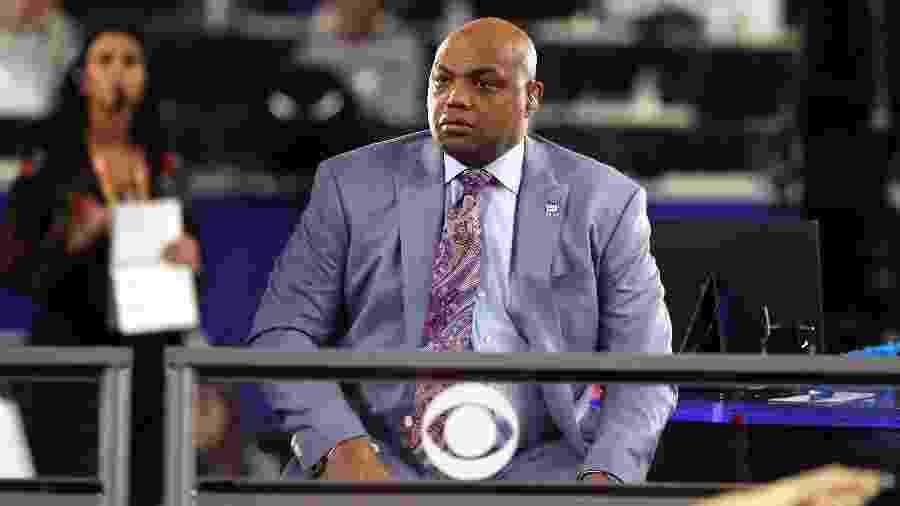 Charles Barkley é comentarista da NBA - Streeter Lecka/Getty Images/AFP