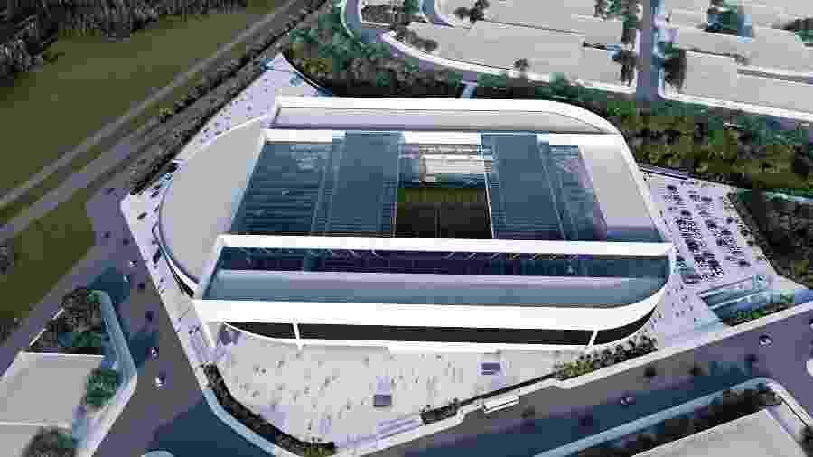 Ponte divulgou projeto de nova arena em Campinas - Divulgação