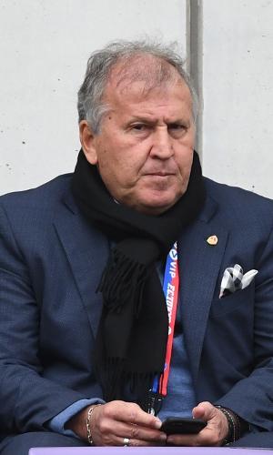Zico, ex-jogador do Flamengo