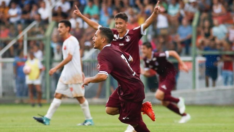 Rikelmi anotou o gol da vitória do Juventus, ontem, na primeira partida da Copinha 2020 - Reprodução/Twitter
