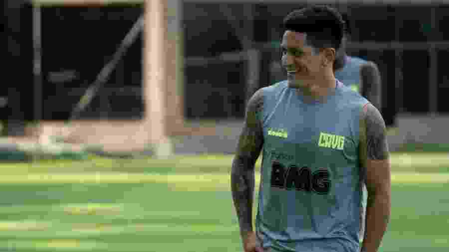 Argentino Germán Cano leva uma vida discreta fora de campo e tem o golfe como hobbie - Carlos Gregório Júnior / Vasco