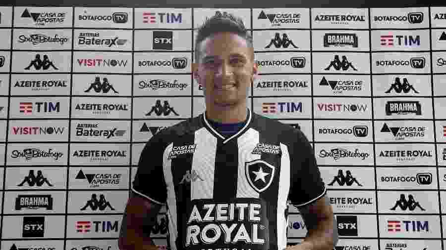 Luiz Otávio é apresentado pelo Botafogo no Mercado da Bola - Vítor Silva/Botafogo