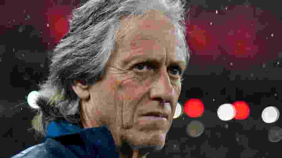 Jorge Jesus analisou o jogo de ida da Recopa - Thiago Ribeiro/AGIF