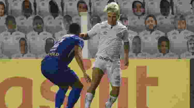 Soteldo - Divulgação/Santos FC - Divulgação/Santos FC