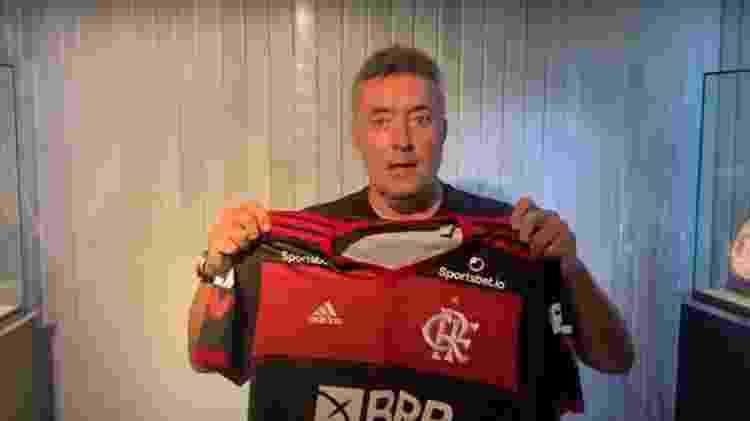 Torrent será o novo treinador do Flamengo - Reprodução Fla TV  - Reprodução Fla TV