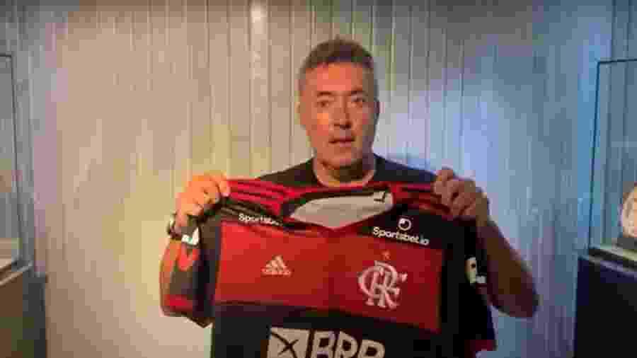 Domènec Torrent será apresentado pelo Flamengo amanhã - Reprodução Fla TV