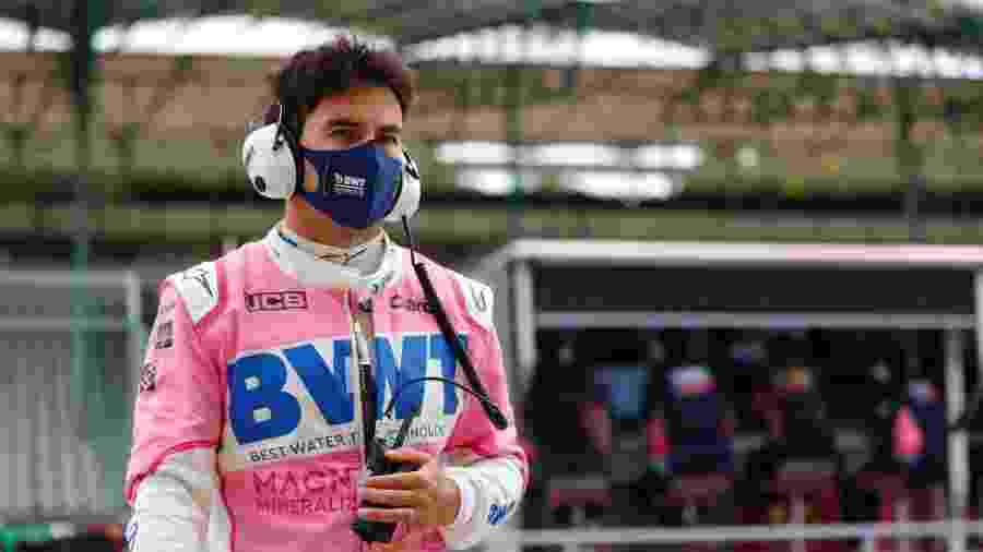 Sergio Perez, piloto da Racing Point - Divulgação/Racing Point