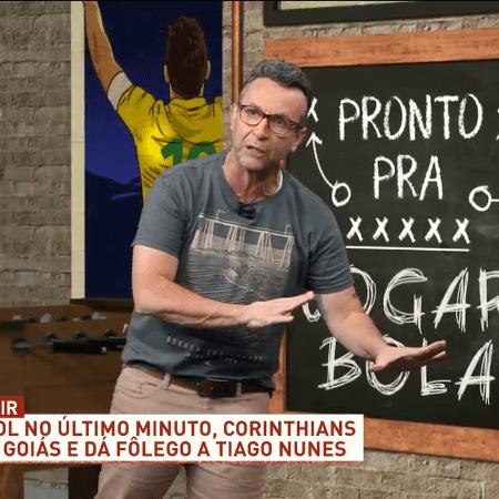 Neto, apresentador do Os Donos da Bola, da TV Band - Reprodução/TV Band