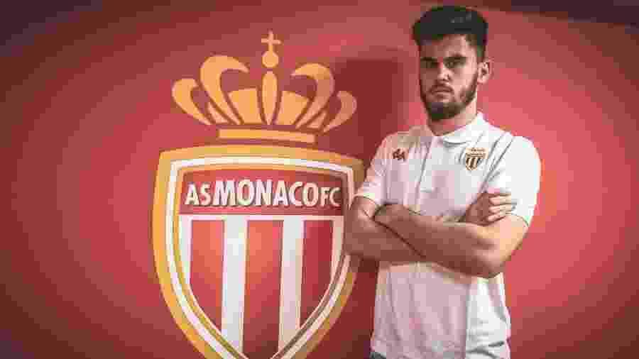 Gabriel Pereira, goleiro do Mônaco, pode ser emprestado no mercado da bola - Divulgação