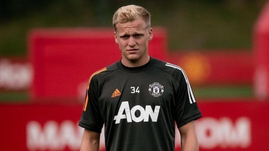 Van de Beek, meio-campista do Manchester United - Reprodução/Instagram