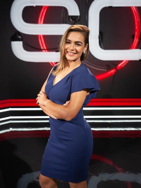 Marcela Rafael, apresentadora da ESPN Brasil - Divulgação/ESPN