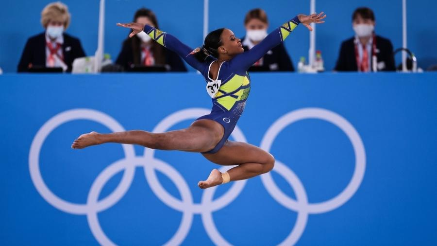 Rebeca Andrade conquista a medalha de prata na ginástica artística nas Olimpíadas de Tóquio - Jonne Roriz/COB