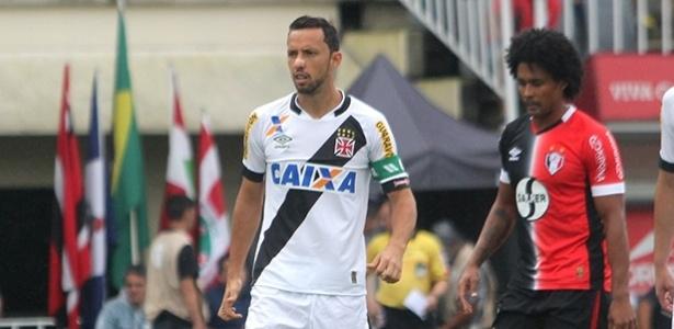 Nenê foi o autor do primeiro gol do Vasco na vitória por 2 a 1 sobre o Joinville