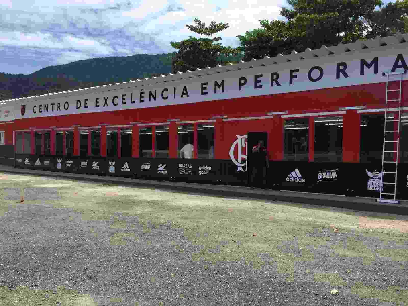 O CT Ninho do Urubu conta agora com um Centro de Excelência em Performance - Divulgação/Flamengo