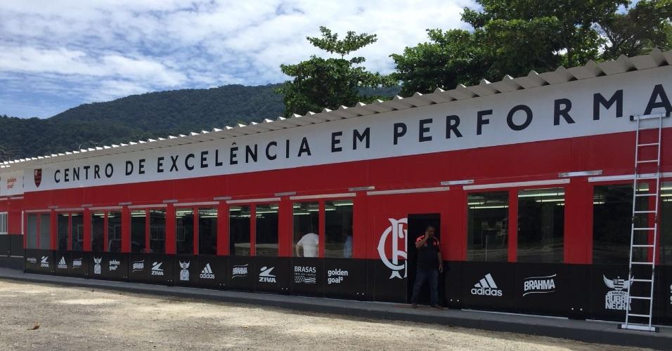 O CT Ninho do Urubu conta agora com um Centro de Excelência em Performance