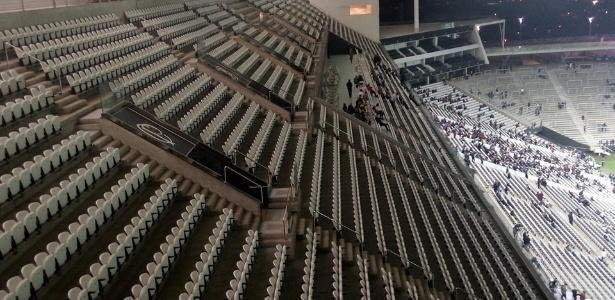 Caixa havia concedido 6 meses de carência, mas pagamento do estádio segue suspenso