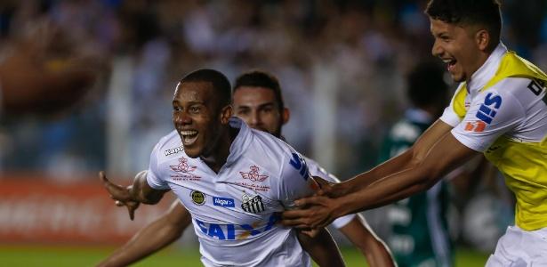 Vitória contra o Palmeiras devolveu esperanças ao Santos