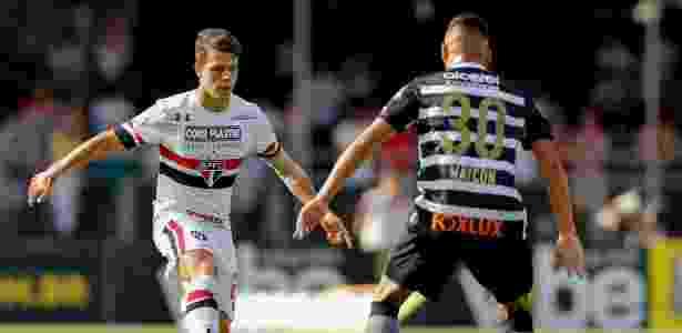 Araruna encara Maycon no Morumbi, no São Paulo x Corinthians - Marcello Zambrana/AGIF