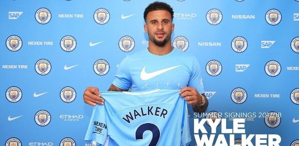 Kyle Walker custou mais de 50 milhões de euros ao Manchester City